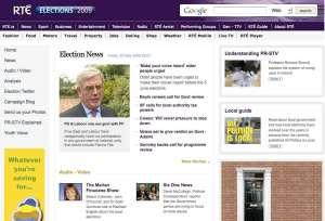 RTÉ Elections 2009