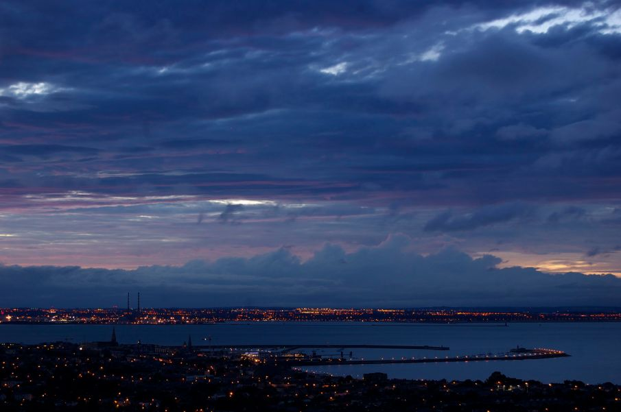 Dublin Bay from Dalkey
