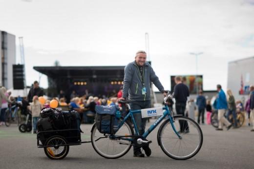 Photo credit: Kristoffer H. Kippernes/transportsykkel.no